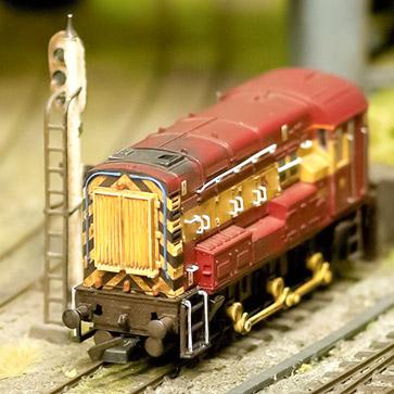 Modelleisenbahn viele Baugrößen